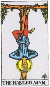 The Hanged Man of Tarot Deck