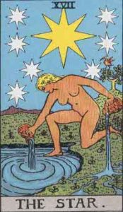 The Star Card of Tarot Deck